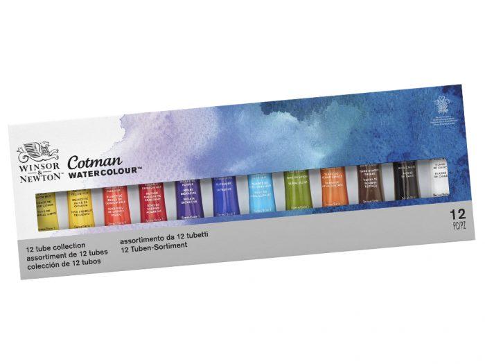 Watercolour tube set Cotman - 1/5
