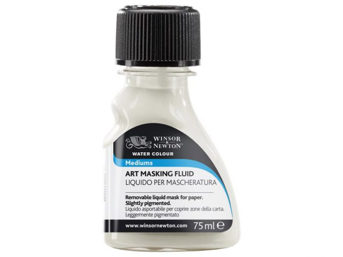 Watercolour art masking fluid Winsor&Newton