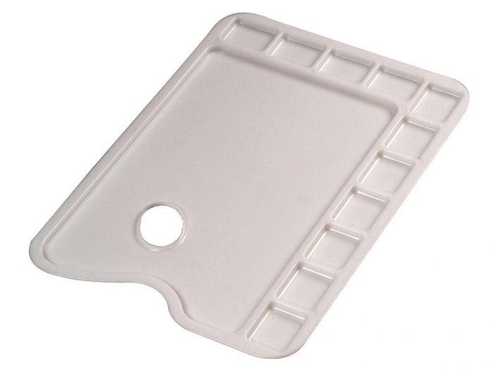 Palette rectangular C&Co 34×24 cm plastic