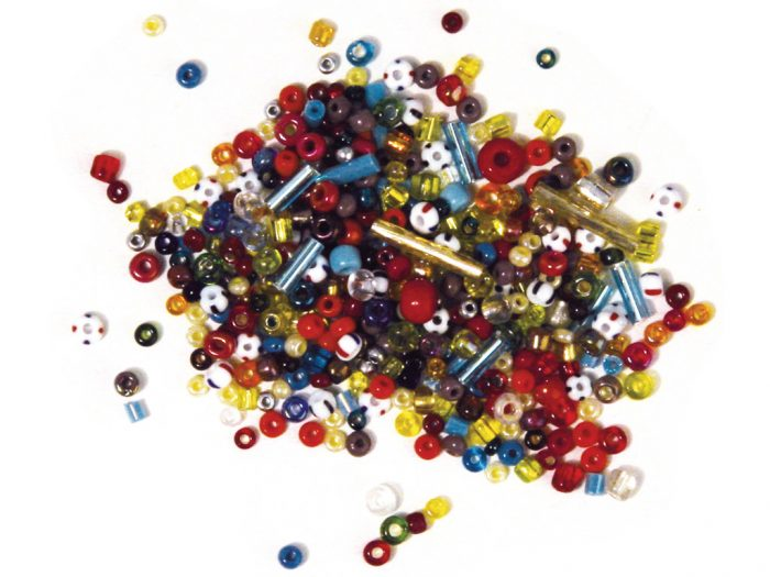 Glass beads Rayher various colours