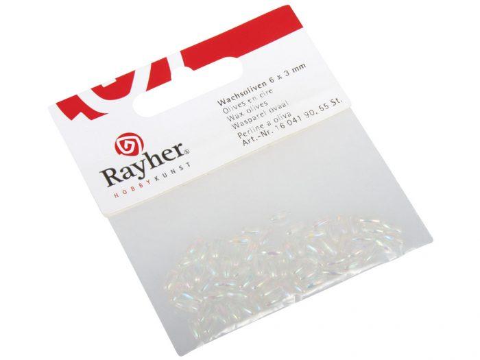 Pērlītes Rayher 6x3mm 55gab. - 1/2