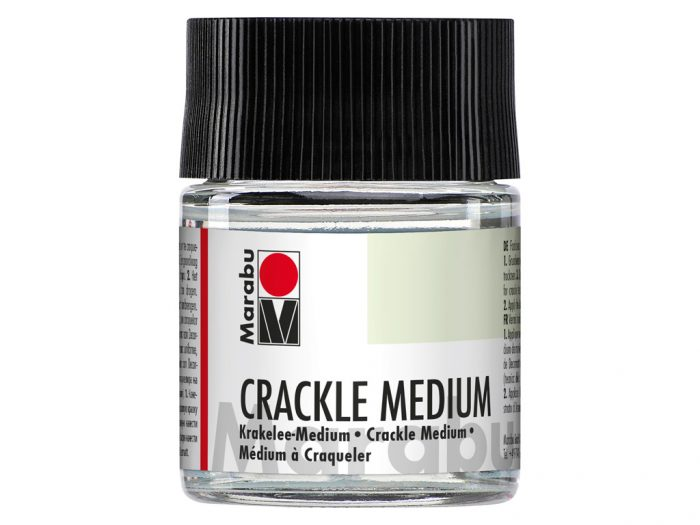 Laka salvešu tehnikai Medium Cracle