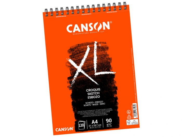 Eskiisiplokk Canson XL Croquis