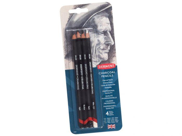 Anglinis pieštukas 4vnt. Derwent