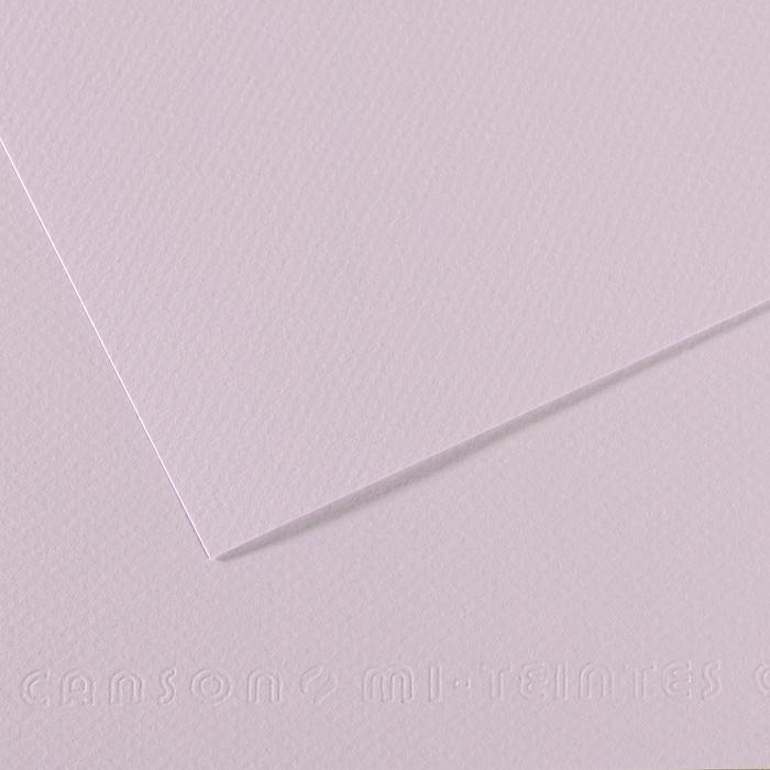 Pasteļpapīrs MiTeintes raupjš 160g/50x65cm 104 lilac