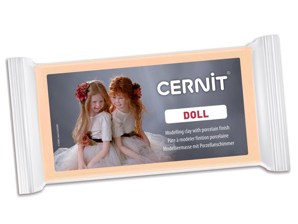 Polimerinis molis Cernit Doll 500g 855 skin