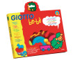 Soft modelling dough Giotto Be-Be 3x100g+accesories