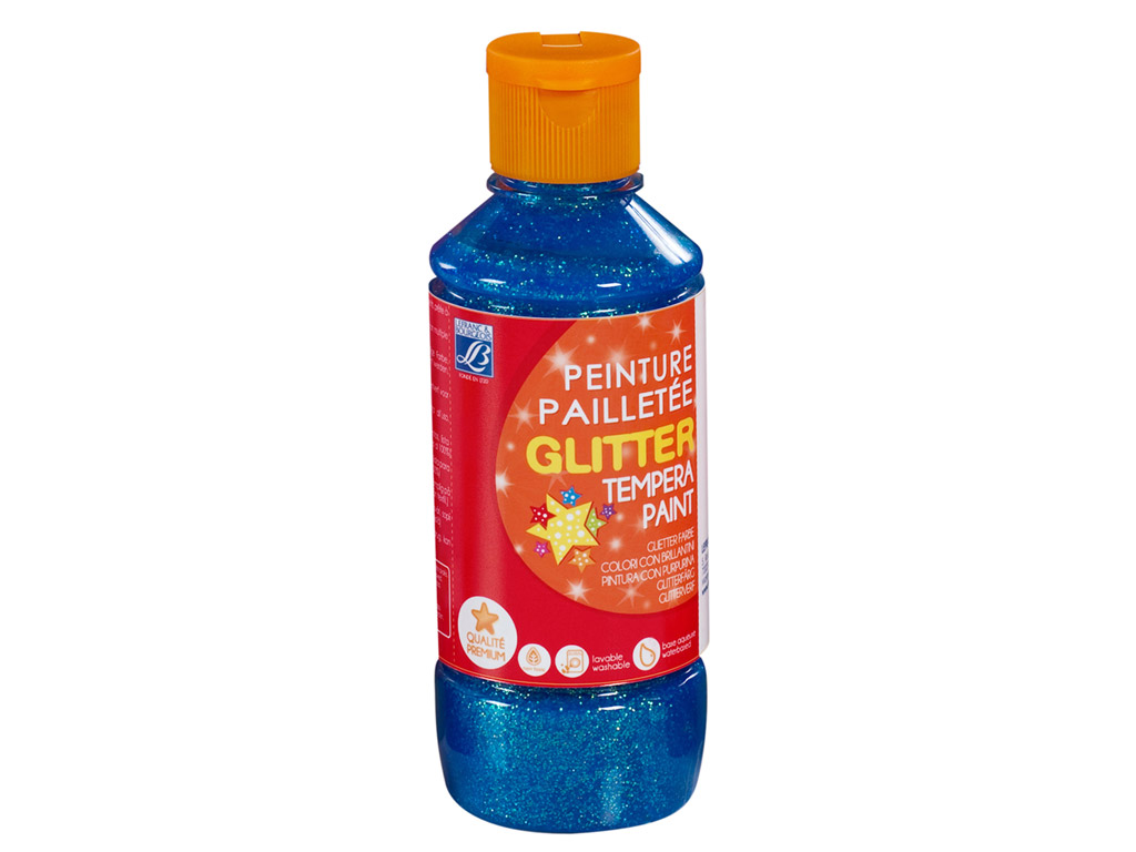 Glittervärv C&Co 250ml 783 helesinine