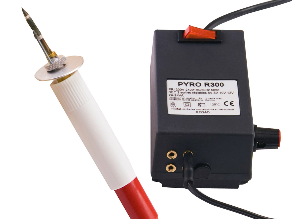 Pyrography machine C&Co R300 110/220V 2 work