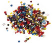 Glass beads Rayher transparent 25g various colours