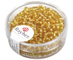 Rocailles 2.6mm silver inlet 16g 06 gold