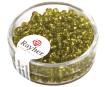 Rocailles 2.6mm silver inlet 16g 11 light green