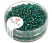 Rocailles 2.6mm silver inlet 16g 15 jade