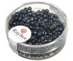 Rocailles 2.6mm silver inlet 16g 23 blood-stone