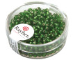 Rocailles 2.6mm silver inlet 16g 29 green