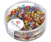 Rocailles 2.6mm silver inlet 16g 49 mixed