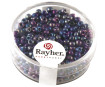 Rocailles 2.6mm opaque 17g 10 dark blue