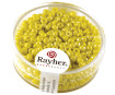 Rocailles 2.6mm opaque 17g 20 yellow