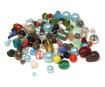 Glass beads Rayher transparent 75g various colours