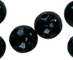 Wax beads 8mm 32pcs 01 black