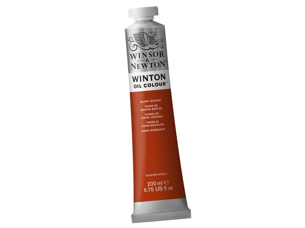 Õlivärv Winton 200ml 074 burnt sienna