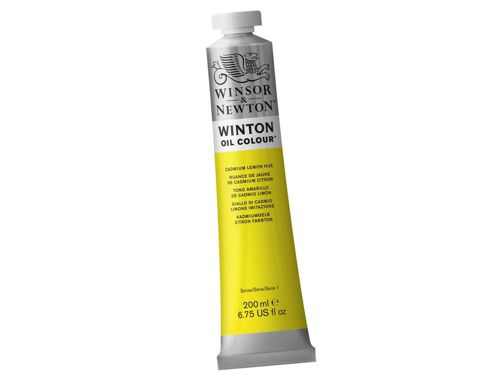 Õlivärv Winton 200ml 087 cadmium lemon hue (P)