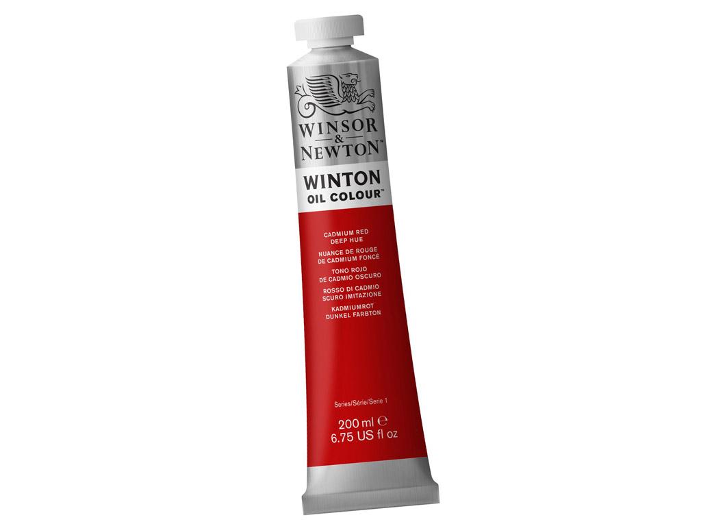 Õlivärv Winton 200ml 098 cadmium red deep hue