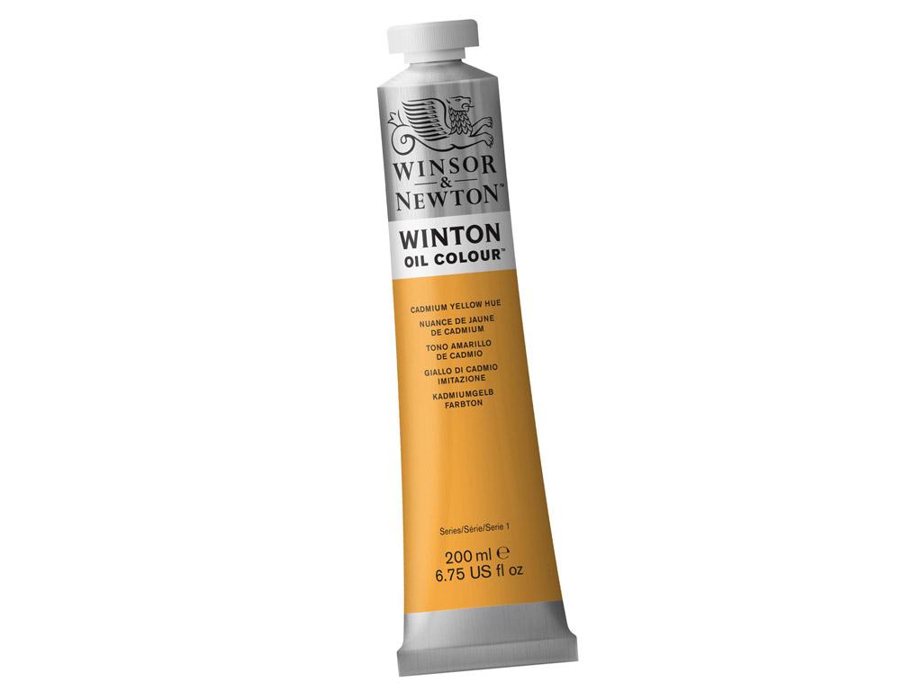 Õlivärv Winton 200ml 109 cadmium yellow hue