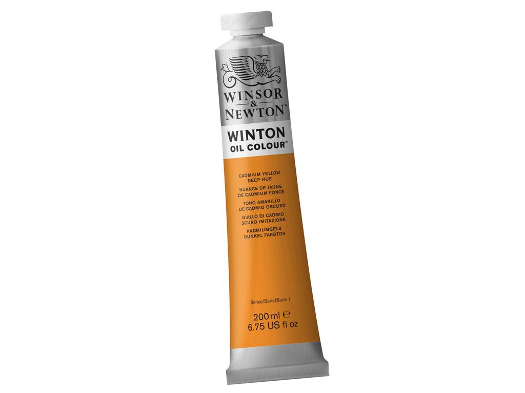 Õlivärv Winton 200ml 115 cadmium yellow deep hue