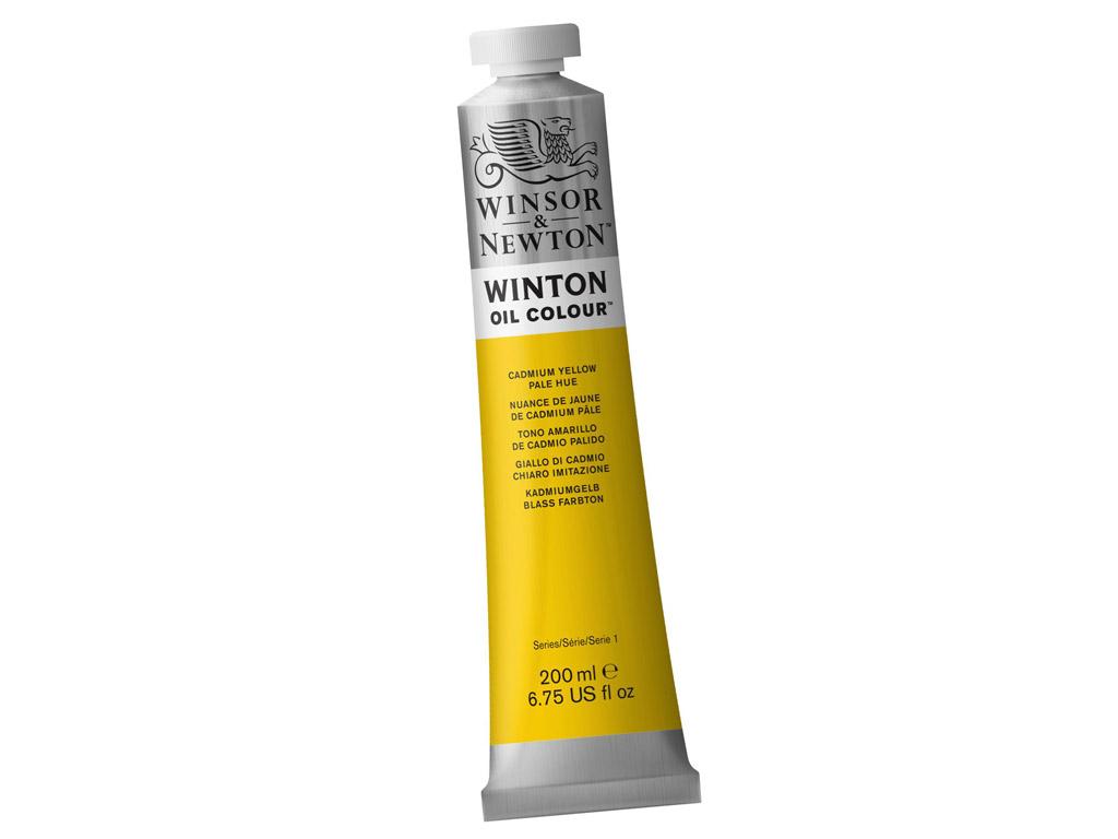 Õlivärv Winton 200ml 119 cadmium yellow pale hue
