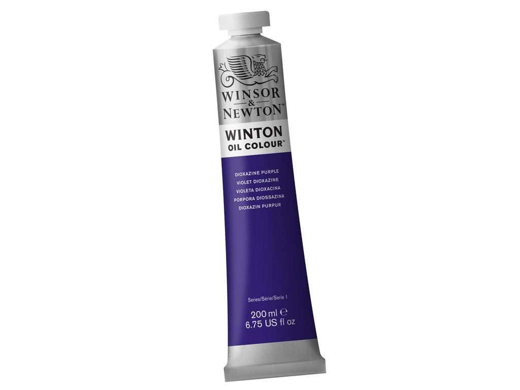Õlivärv Winton 200ml 229 dioxazine purple