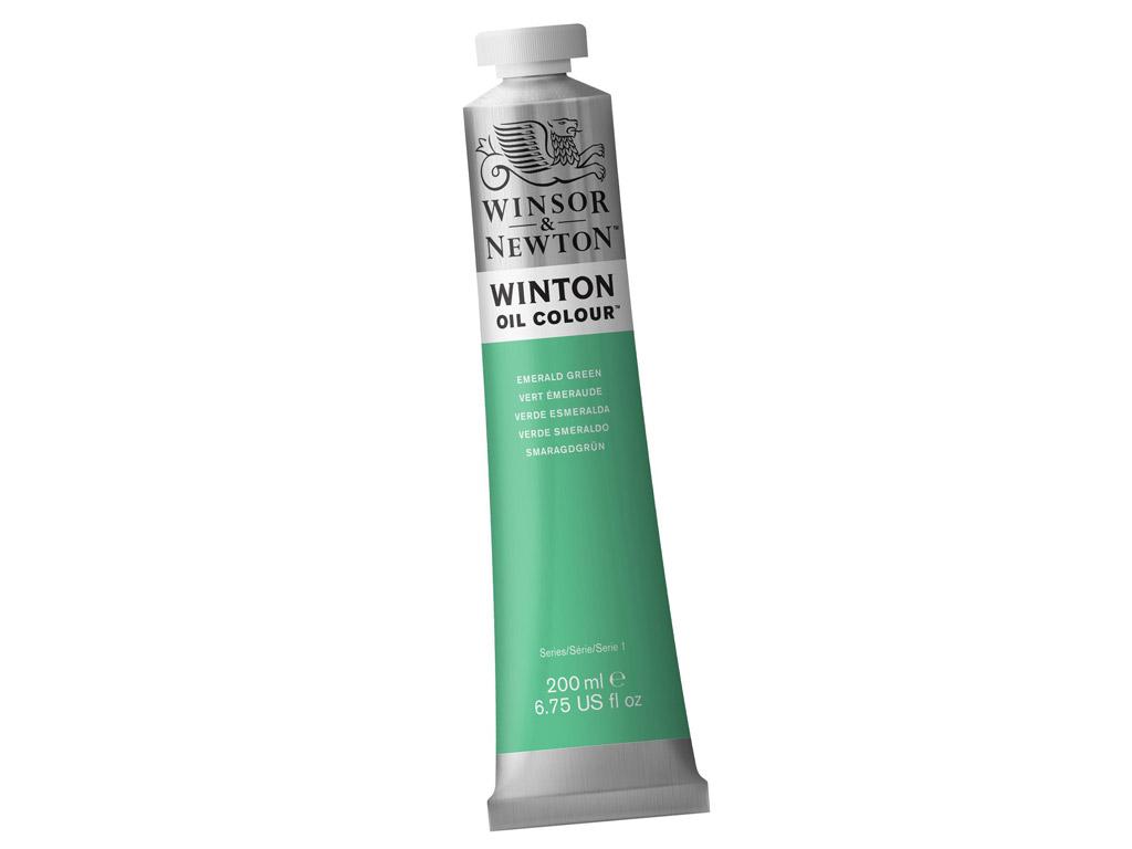 Õlivärv Winton 200ml 241 emerald green