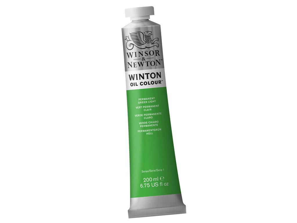 Õlivärv Winton 200ml 483 permanent green light