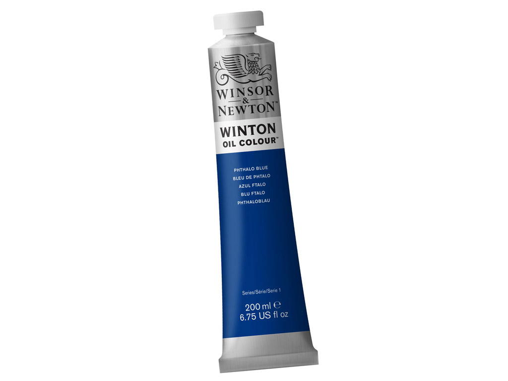 Õlivärv Winton 200ml 516 phthalo blue (P)
