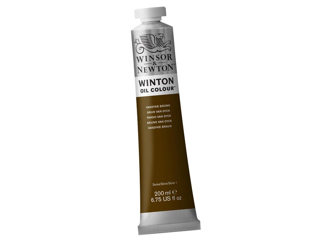 Õlivärv Winton 200ml 676 vandyke brown