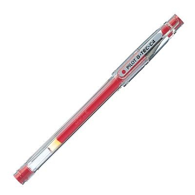 Gēla pildspalva Pilot G-TEC-C4 red
