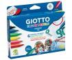 Tekstilės žymeklis Giotto Decor Textile 6vnt.