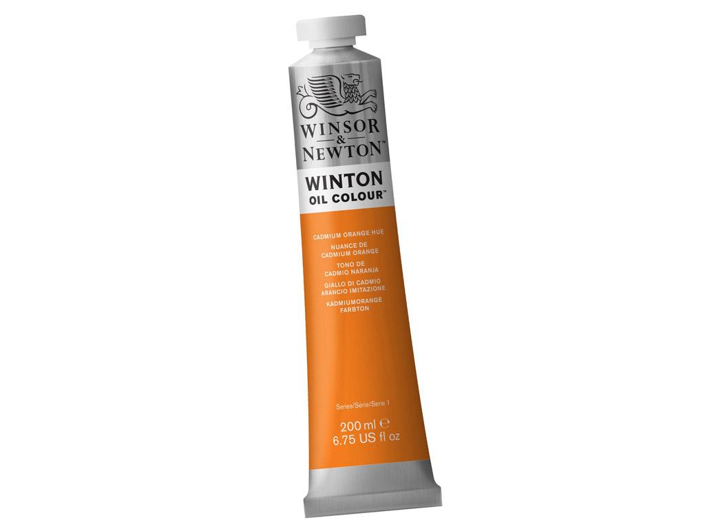 Õlivärv Winton 200ml 090 cadmium orange hue