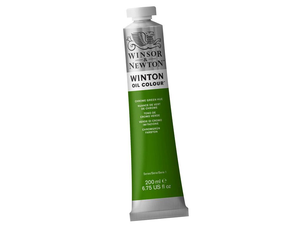 Õlivärv Winton 200ml 145 chrome green hue