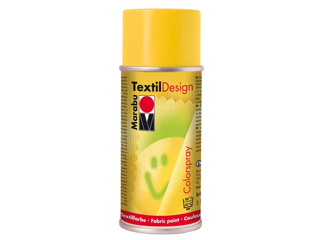 Tekstilės dažai aerozolis 150ml 021 medium yellow
