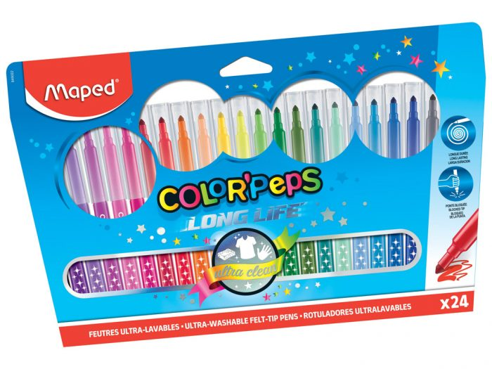 Felt pen Maped Color'Peps Long Life - 1/2