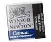Akvarelinių dažų pakuotė Cotman 1/2 337 lamp black