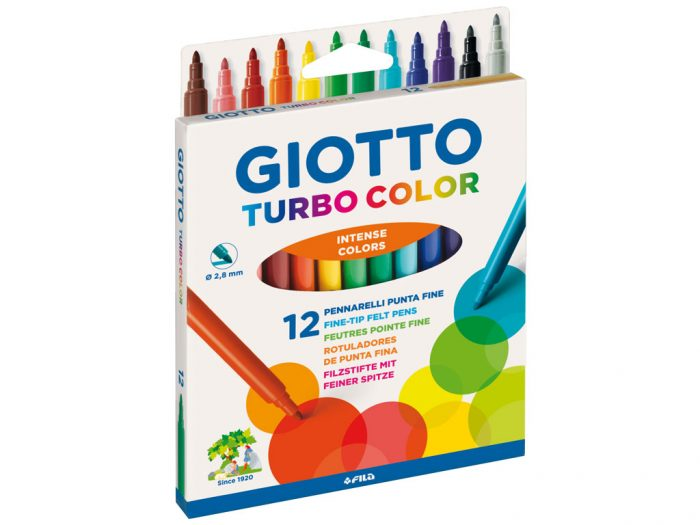 Flomasteri Giotto Turbo Color - 1/2