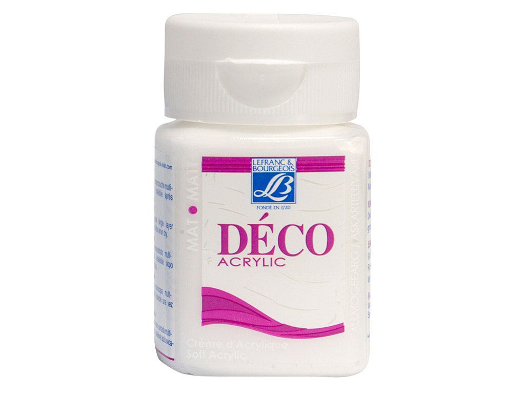 Deco Matt 50ml 877 snow white