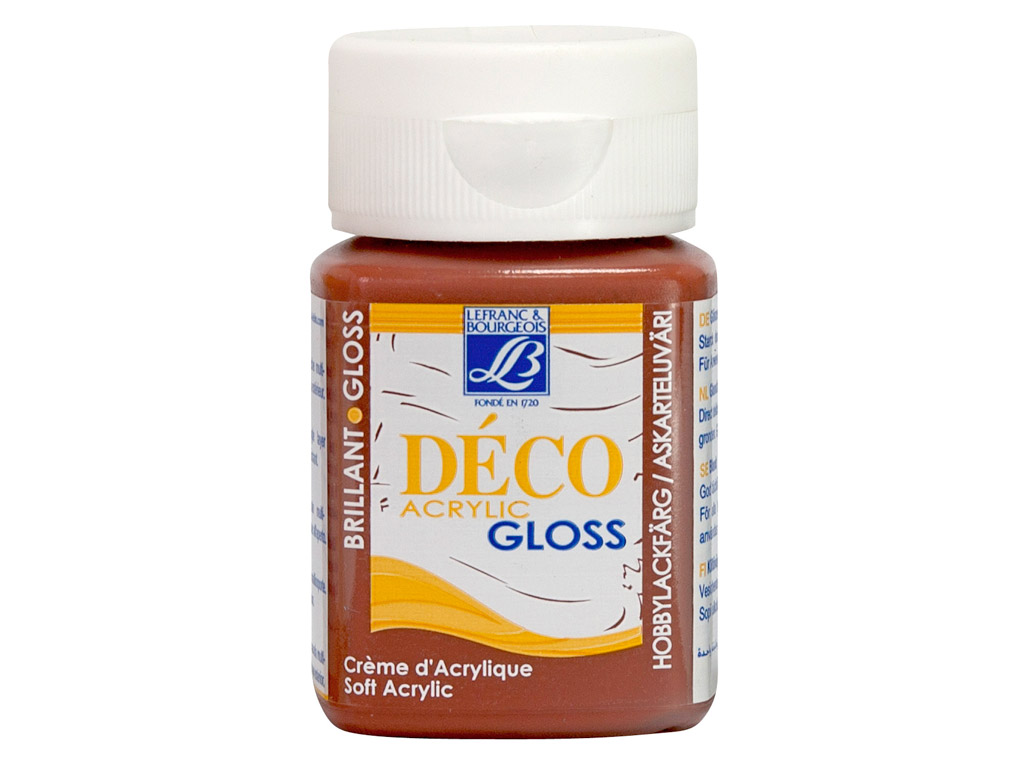 Deco Gloss 50ml 487 mahogany