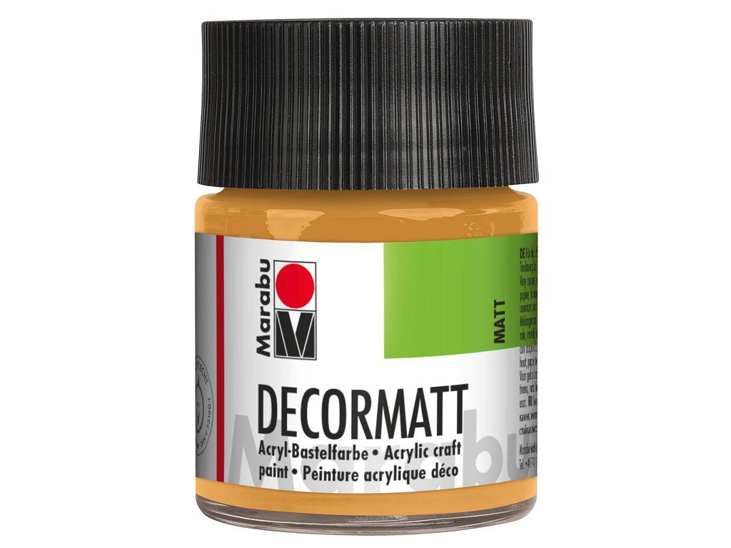 Dekoorvärv Decormatt 50ml 784 metallic-gold