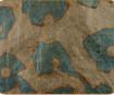 Zelta folijas lapas aploksnē 14x14cm 7gab. 217