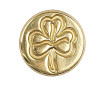 Sealing coin Manuscript 18mm Shamrock