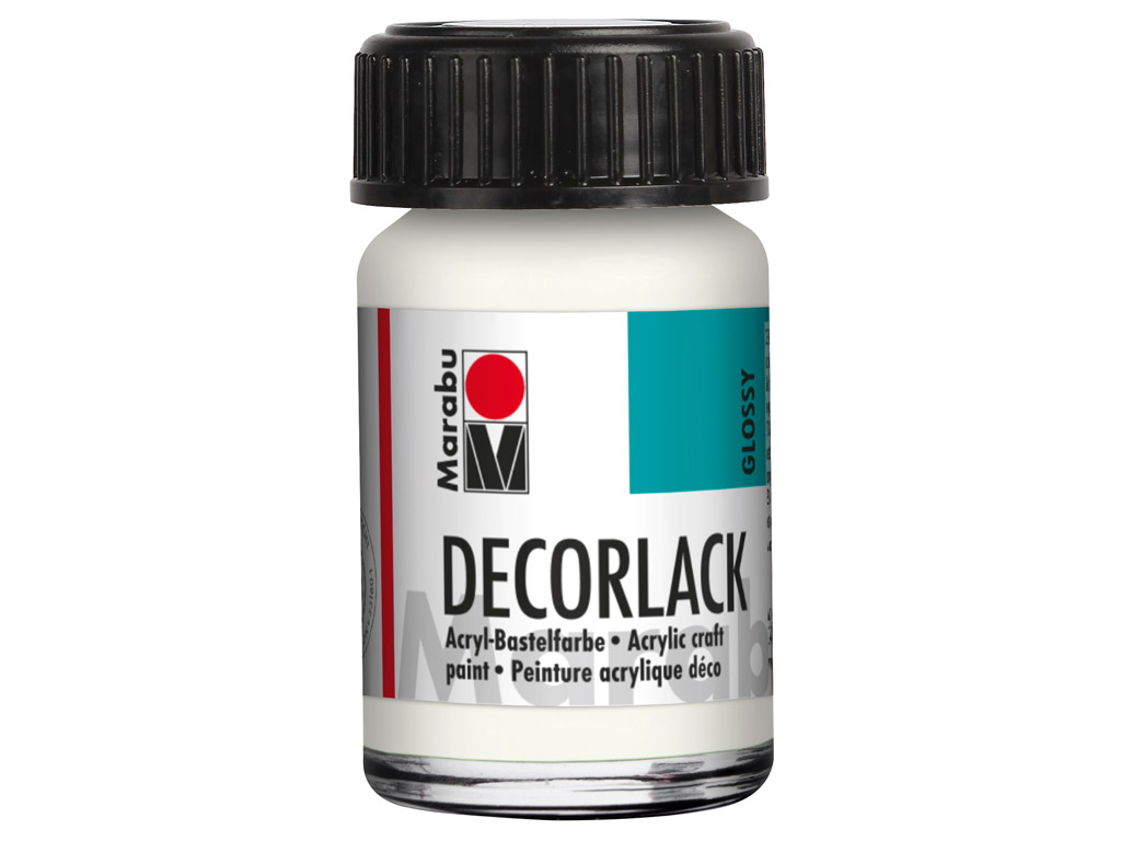 Dekoorvärv Decorlack 15ml 070 white