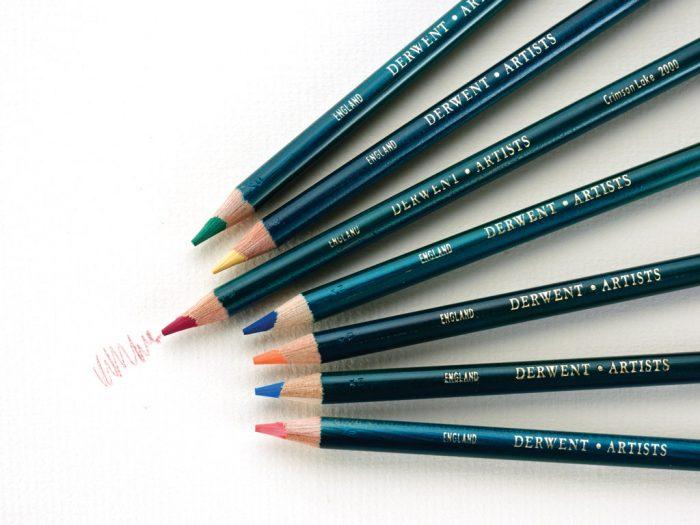 Krāsainais zīmulis Derwent Artists - 1/2